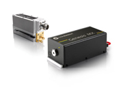 イオンレーザの置き換えに適した単一周波数発振全固体CW可視レーザー
