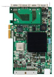 Camera Link規格のカメラ2台を接続する画像入力ボード