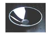 精密な非球面加工の放物面ミラー