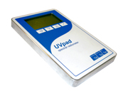携帯型・メモリ内蔵で単体での測定に対応・200-440nm/UVパッド・紫外線分光放射計
