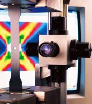 3次元で高感度の変位・ひずみ解析が可能な測定システム