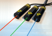 軽量,小型,省電力を実現したフルカラーレーザーコリメーション光源ユニット