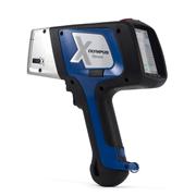 片手で簡単に操作できる蛍光X線分析計