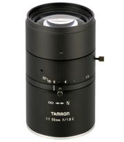 3.1μmピクセルピッチ・イメージセンサ対応の工業用単焦点レンズ