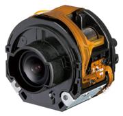 昼間と夜間撮影時の高画質を実現した監視用カメラ小型ズームレンズ