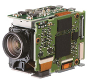 光学防振機構搭載した小型カメラモジュール