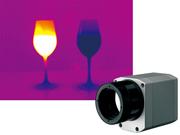小型で高解像度のガラス温度測定用サーモグラフィ