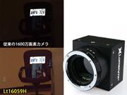 1600万画素のハイダイナミックレンジなカメラ
