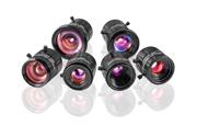 超コンパクトな形状の固定焦点レンズ