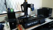 レーザーセンサーを用いた非接触式の計測装置
