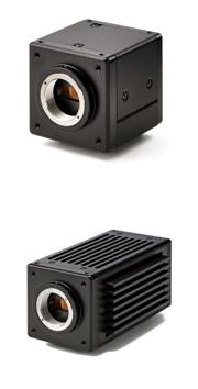 中帯域の近赤外感度を持つ2機種のInGaAs短波長赤外カメラ