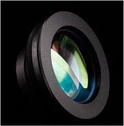 レーザー耐力が大きく,焦点距離が短いテレセントリックf-θスキャンレンズ
