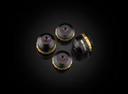 延長チューブの使用により倍率変更が可能な小型対物レンズ