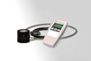 低圧水銀殺菌ランプとUV-C LEDの両方を測定できるハンディ型UV放射計