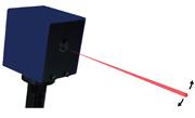 広いエリアの傷を瞬時に検出するスキャニングレーザー