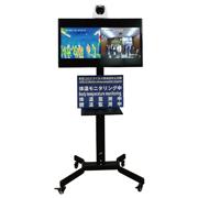 非接触で複数人を同時に体温モニタリングするサーマルカメラ検温システム