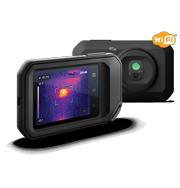 コンパクトなサーモグラフィカメラ
