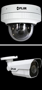 セキュリティカメラにミニドームタイプとバレットタイプを追加