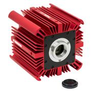 ファンレスの熱電冷却方式のCMOS小型サイエンティフィックカメラ