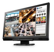 映像の暗い部分を見やすく補正するセキュリティー市場向けフルHD対応モニター