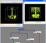 汎用可視化ソフトウエアに3次元画像処理ライブラリを組み込み製品化