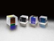 可視光・赤外光対応の無偏光型ハイブリッドキューブハーフミラー