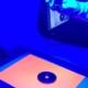 輪郭を鮮明にするバックライト蛍光シート
