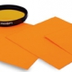 オレンジ色の蛍光を発するバックライト