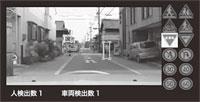 図11 特定物体認識と物体検出を組み合わせた車載カメラシステム