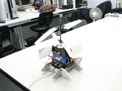 図5 あらたに製作中の飛翔ロボット