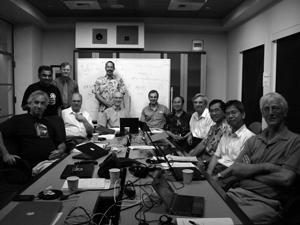 建設地をハワイ島マウナケア山に決めた2008年のTMT評議会
